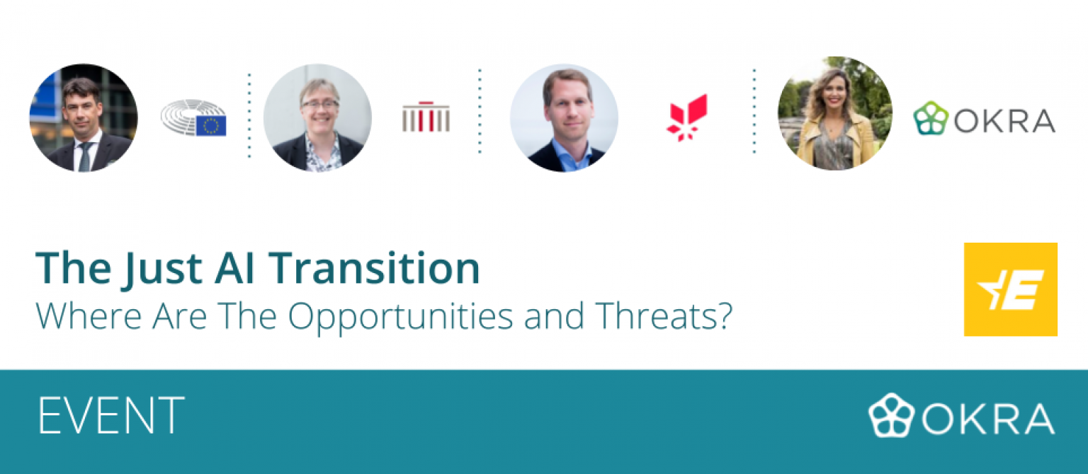 The Just AI Transition: Where Are The Opportunities And Threats?